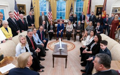 Parkland Families Meet with President Trump to Discuss New School Safety Clearinghouse